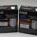 A pair of Aztech HL280E Adapter from Bizgram