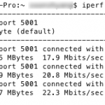 Test 5 - iPerf results