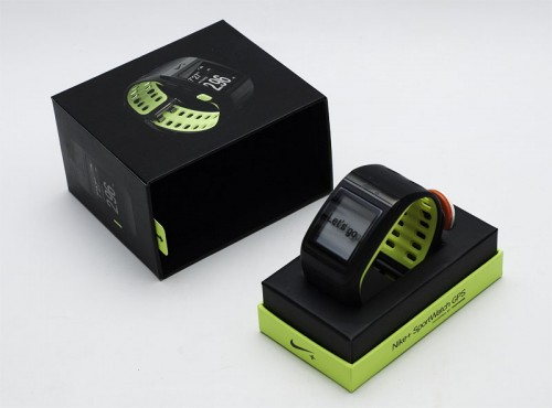 Nike+ SportWatch GPS with Nike+ Sensor