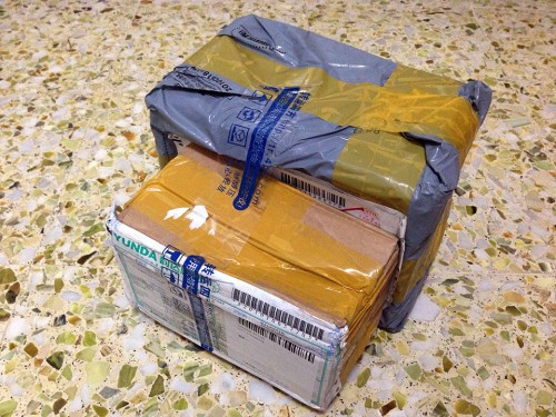Taobao Package via 4PX