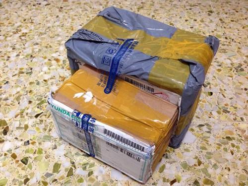 Taobao Package via 4PX