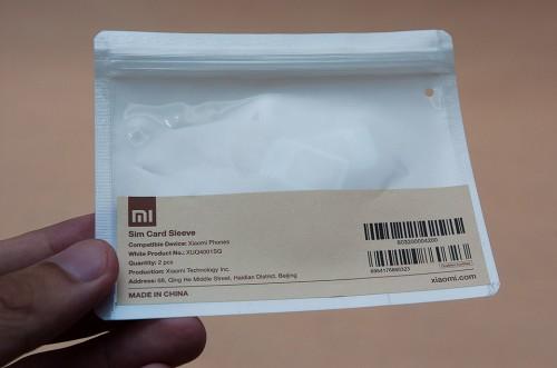 SIM card sleeve x 2